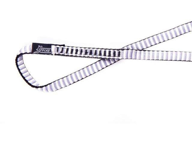 Fixe Dyneema Pętla 125cm, szary/biały